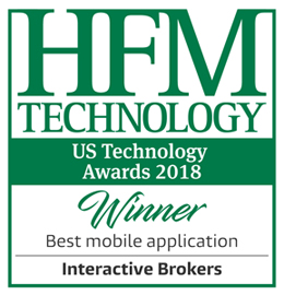 HFM Week US Hedge Fund Services Awards 2018 - Beste mobile Anwendung