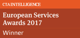 Winner 2017 CTA European Services Awards - Best FCM - Technology