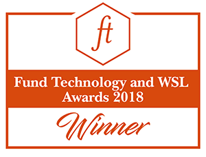 "Sieger 2018 Fund Technology and WSL Awards - ""Insgesamt beste Handelsplattform"" - ""Beste Handelsplattform für Optionen - Broker"""