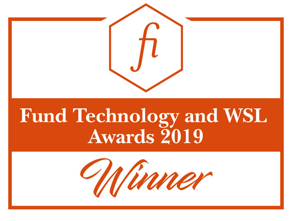 Winner 2019 Fund Technology and WSJ Awards