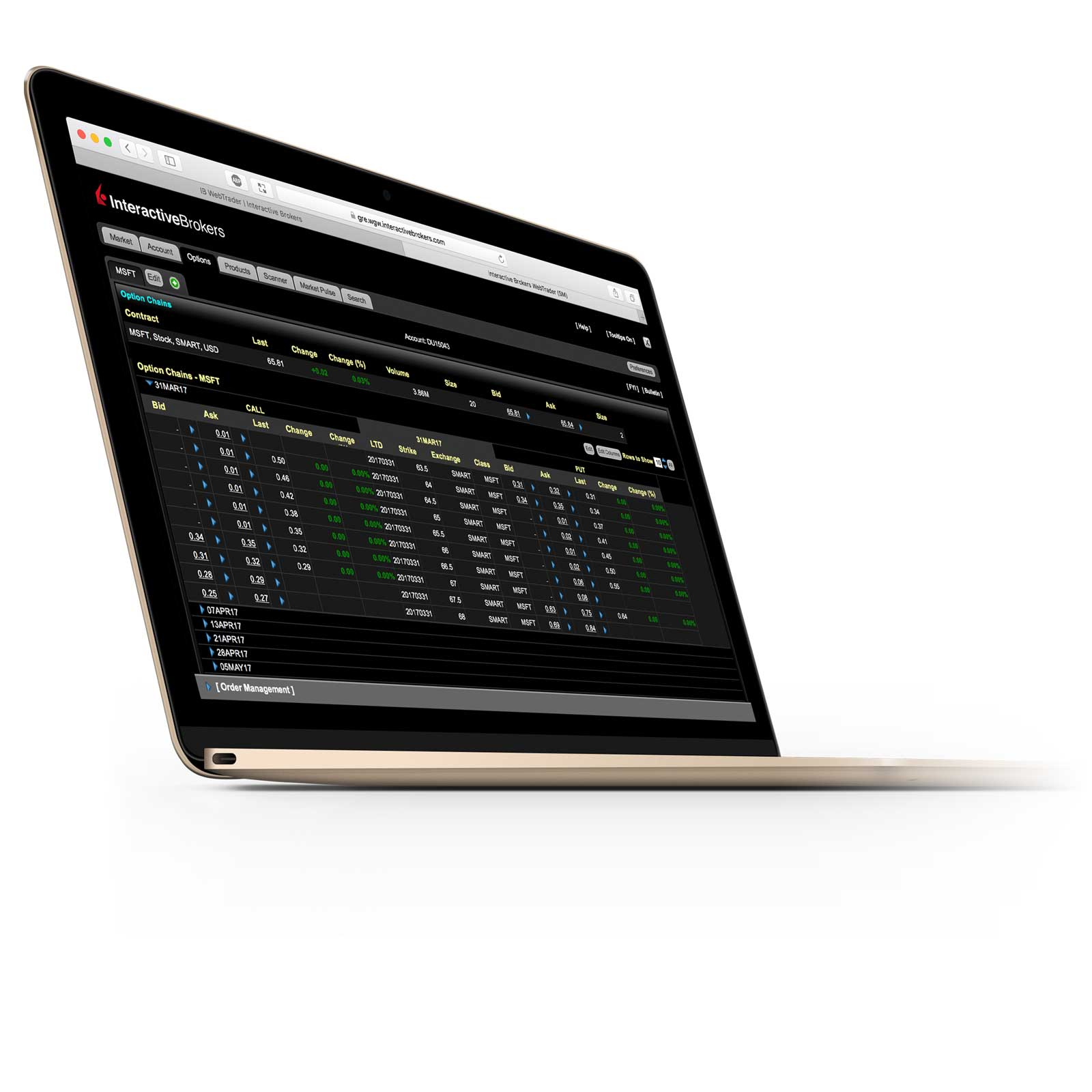 CapTrader ist ein Introducing Broker von Interactive Brokers. Interactive Brokers ®, IBSM, suomenpaineautot.info ®, IB Universal Account ®, Interactive Analytics ®, IB Options AnalyticsSM, IB SmartRoutingSM, PortfolioAnalyst ® und IB Trader WorkstationSM sind Dienstleistungszeichen und/oder Handelsmarken von Interactive Brokers LLC.