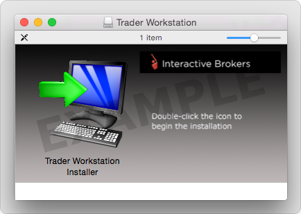 Interactive brokers tws for mac